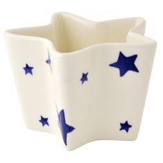 Starry Skies Star Dish Unfilled