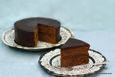 Sacher Cake Recipe, My Recipes, Cake Recipes, Romanian Food, Something Sweet, Mousse, Fondant, Sweet Treats, Cheesecake