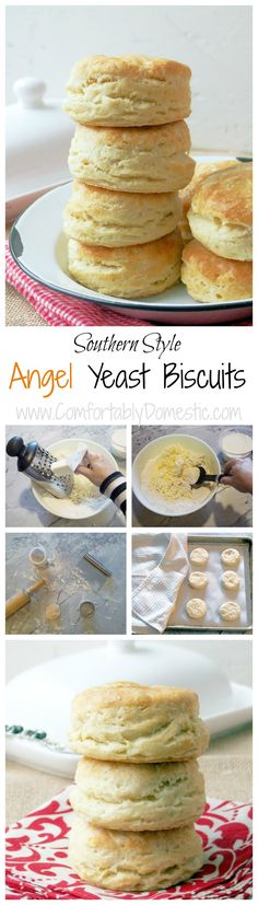 Angel-Yeast-Biscuits-are-southern-style-biscuits four types of leavening so that they bake light and fluffy every time. @comfortdomestic www.comfortablydomestic.com