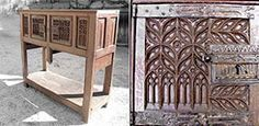 Gothic sideboard (private coll.) - Royal Monastery of Brou (Bourg-en-Bresse 71)