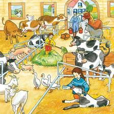 On the farm talk plate Writing Pictures, Picture Writing Prompts, Speech Language Therapy, Speech And Language, Teaching Spanish, Teaching English, Talk 4 Writing, Picture Comprehension, Picture Composition