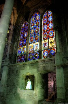 Behold thy Mother and Holy Queen! Cathedral in Dinant, Belgium