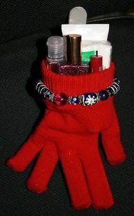 Christmas gift gloves,
