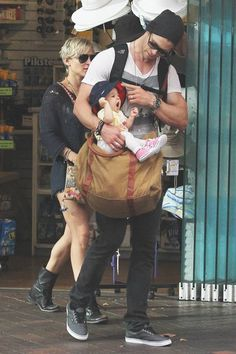 Chris Hemsworth and Daughter India