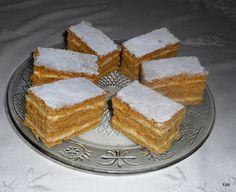 Hungarian Desserts, Hungarian Recipes, Ital Food, Nutella Brownies, Cake Cookies, Cornbread, Tiramisu, Cheesecake, Dessert Recipes