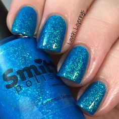 Lavish Layerings: Smitten Polish Opalescent Elements Collection - Aqua Opal