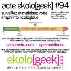 Ekolo[geek] – C'est simple mais fallait le savoir ! » Blog Archive » Acte ekolo[geek] #94