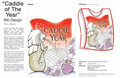 Bib Design contest Raffles, Singapore  4th runner up