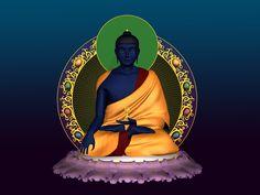 Akshobya, el Buda Azul. Calabaza,  Wu Lou, Sau, José Gregorio o Imagen que nos conecte con la Sanación, es ideal para resguardarnos de la Estrella de la Enfermedad posada en el Este DecorAmando  Nuestros Espacios durante el año del Caballo 2014.