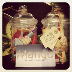 Sweet Treats as wedding favours