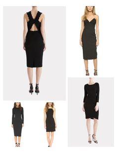The best chic little black dresses!  | Keatonrow.com