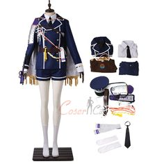Hirano Toushirou Costume Touken Ranbu Cosplay High Quality For Halloween Touken Ranbu Characters, Game Costumes, Halloween Items, Mephisto, Cosplay Dress, Womens Size Chart, Long Toes, Item Number, Thighs