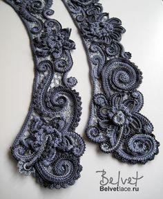 Crochet inspiration keep for website Crochet Motifs, Freeform Crochet, Crochet Art, Knit Or Crochet, Crochet Flowers, Crochet Stitches, Russian Crochet, Irish Crochet, Lace Patterns