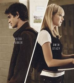 Gwen Stacy and Peter Parker