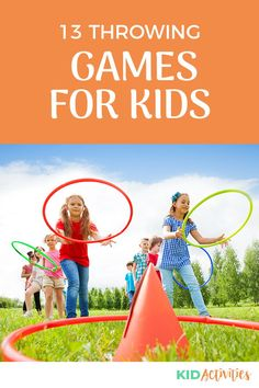 A collection of fun throwing games for kids. Great for the gym or outdoors. #KidActivities #KidGames #ActivitiesForKids #FunForKids #IdeasForKids Indoor Activities For Kids, Games For Toddlers, Kids Learning Activities, Outdoor Games For Kids, Outdoor Learning, Throwing Games, Preschool Age, School Games, Teacher Blogs