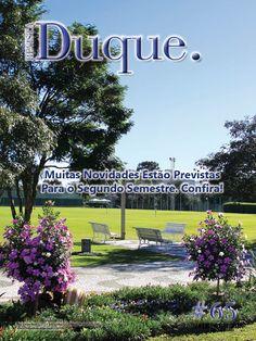 Revista Duque edição 65, 2014; 48 páginas, acabamento lombada quadrada (veículo de comunicação do Clube Duque de Caxias, Curitiba-PR)
