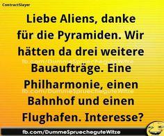.....und bitte hier das alles in Deutschland (Hamburg, Stuttgart und Berlin) aufbauen! :-) können leider nicht landen - zu viele Baustellen ! Ba la la la la la la - fis Bam !