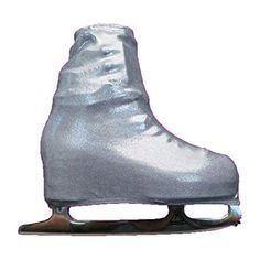 Ice Skating Metallic Boot Covers by KamiSo Skatewear Silver Child ** Click image for more details. This is an Amazon Affiliate links.