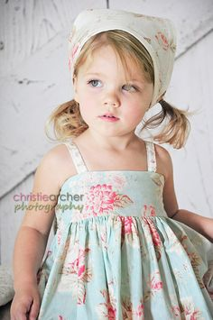 Molly Pattern-PDF-Toddler Girls Pattern-Mcalls Feature, Buy One GET ONE Free