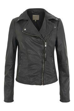 MUUBAA Sabik Leather Biker Jacket