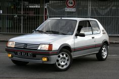 Peugeot 205 Gti Retro Cars, Vintage Cars, 309 Gti, Renault 5 Gt Turbo, Peugeot 205, Volvo, Jaguar, Hot Wheels, Muscle Cars