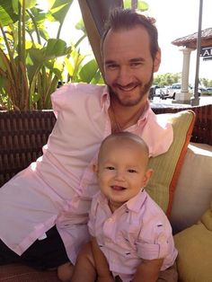 """Nick Vujicic, the man known around the world as the """"limbless evangelist"""" as he was born without any arms and legs, said in an Easter message that the holiday is about the sacrifice of Jesus Christ, not bunnies and eggs. Nick Vujicic, Young Prince, True Grit, Being Good, Godly Man, Lord And Savior, Family Love, A Good Man, Good People"""