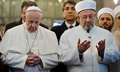 """Pope Francis and Grand Mufti Yaran-If the Vatican had any sense, it would be reaching out to Israel and calling upon Catholics to support the Jewish State as being on the front line of the global jihad that has killed, enslaved and displaced untold numbers of Christians in the Middle East and elsewhere. Instead, the Pope is encouraging Europeans to take in the """"refugees,"""" even though there are jihadis among them, and the Vatican is welcoming the disastrous Iran deal and pressuring Israel…"""