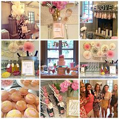 Bubbly Bar, Blush, Pink & Gold Bridal/Wedding Shower Party Ideas | Photo 7 of 39 | Catch My Party