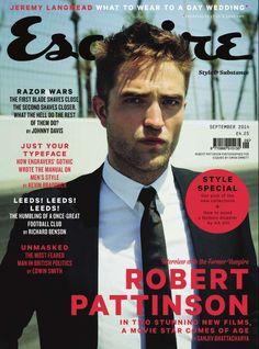 Pattz @ UK Esquire September 2014