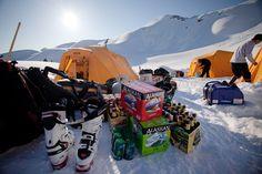 Campin' Alaskan style!