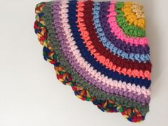 Jay's #Crochet Contribution to Mandalas for Marinke + Mental Health Stigma Statistics