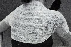 Shoulderette knitting pattern from Nomotta Stoles for Every Occasion, Volume F-110.