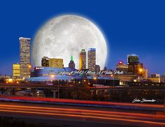 Having fun with photoshop Tulsa Oklahoma, Decor Interior Design, Have Fun, Past, Skyline, Photoshop, Canvas Prints, Building, Artist