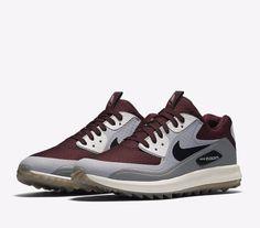 52e0ac7a4b2e Nike Air Zoom 90 IT Mens Golf Shoes 14 Maroon Grey White 844569 600 Rory  McIlroy  Nike