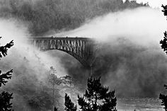 Deception Pass bridge in Washington state.. This is one of my favorite places in my home state..