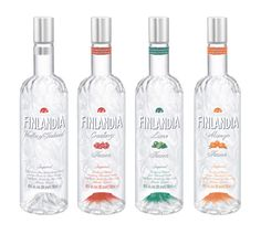 Finlandia Vodka of Finland / Cranberry / Lime / Mango ... #viina #alkoholi #mainos