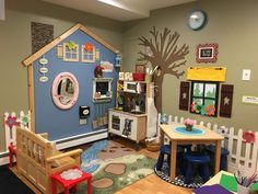 Preschool daycare rooms, preschool rooms, home daycare, preschool classroom Preschool Rooms, Preschool Centers, Free Preschool, Church Nursery, Play Centre, Toy Rooms, Dramatic Play, Kid Spaces, Classroom Decor