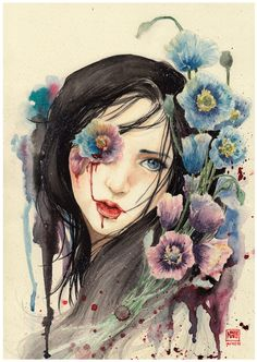 Poppy Flower by ~KannyMOs on deviantART