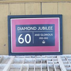 '60 And Glorious' Jubilee Framed Picture - Not On The High Street Price: £25