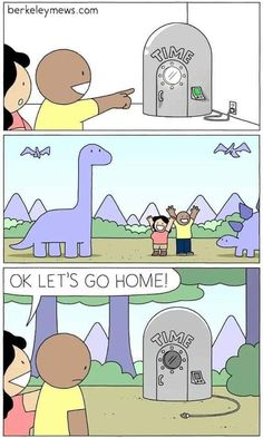 time machine pictures and jokes / funny pictures & best jokes: comics, images, video, humor, gif animation - i lol'd Dark Humor Comics, Dark Comics, Fun Comics, Friday Funny Pictures, Funny Picture Quotes, Funny Cartoons, Funny Jokes, Hilarious, Funny Gifs