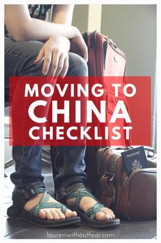 Moving to China Checklist Moving to China Checklist Usa Living, Living In China, China Travel Guide, Asia Travel, Solo Travel, Bejing China, Moving To China, Visit China, Packing To Move