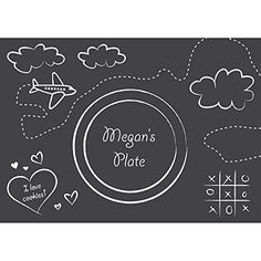 Chalkboard Placemats (8 Pack) - Party Supplies