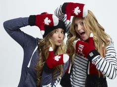 Olympic red mittens unveiled for Sochi 2014 | canada.com