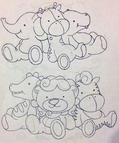 Riscos de desenhos