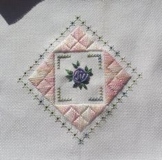 Stitchin' and Life in a Small Town: Hardanger