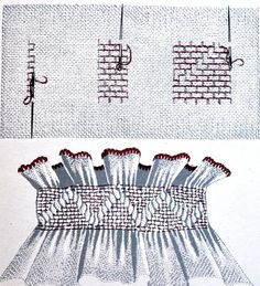 modele cusaturi ie - Yahoo Image Search Results Folk Embroidery, Learn Embroidery, Embroidery Stitches, Embroidery Patterns, Machine Embroidery, Floral Embroidery, Smocking Tutorial, Smocking Patterns, Cross Stitch Needles
