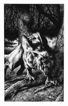 A better scan of this Werewolf illustration, which was done for the book Revenge of the Vampire. Fantasy Creatures, Mythical Creatures, Art Wolfe, American Werewolf In London, Werewolf Art, Howl At The Moon, Bild Tattoos, Vampires And Werewolves, World Of Darkness