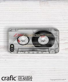 Clear Vintage Cassette Tape iPhone 5/5S Case - iPhone 4/4S Case