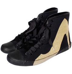 Canvas Sneakers w/pump print / BE | LE CIEL BLEU (ルシェルブルー)公式サイト