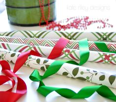 Love the coordinating bold colors & patterns—you can tell it's high quality gift wrapping paper—I can do unlimited looks with these papers. (Yes, gift wrapping is one of my passions—I love to create one-of-a-kind works of art. I want my gifts to be special, so I try to create a sense of excitement before the recipient ever opens the gift—it's like getting two gifts in one.) Christmas gift wrap by kateriley on Spoonflower (coordinating fabrics available)